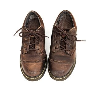 Dr. Martens Brown INDUSTRIAL Air Wave Safety Boots